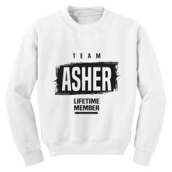 Asher Youth Sweatshirt | Artistshot