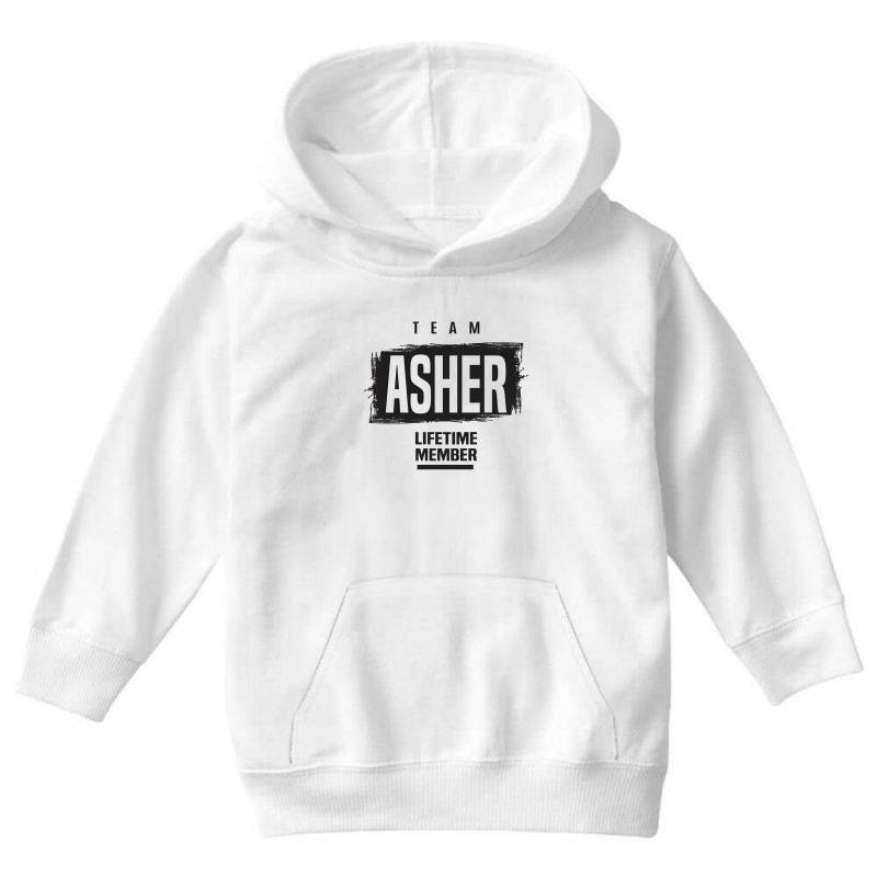 Asher Youth Hoodie   Artistshot