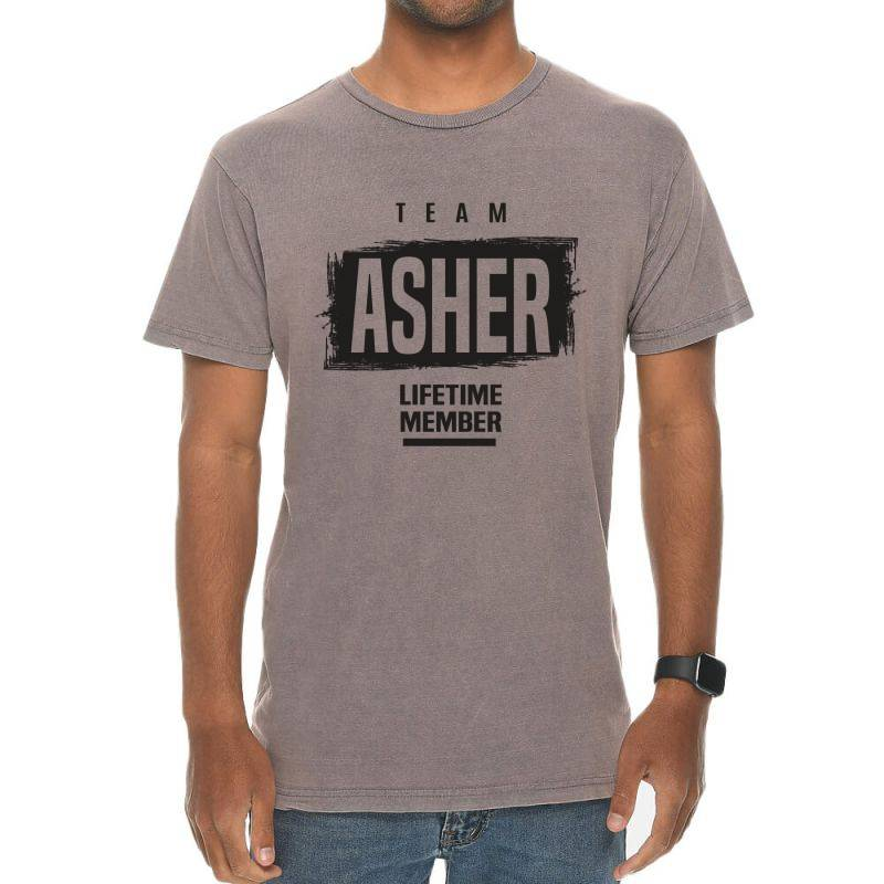 Asher Vintage T-shirt | Artistshot