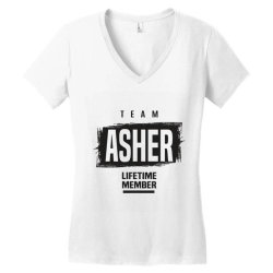 Asher Women's V-Neck T-Shirt | Artistshot