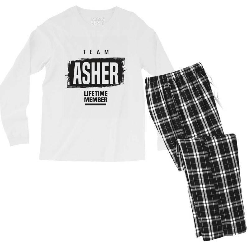 Asher Men's Long Sleeve Pajama Set | Artistshot