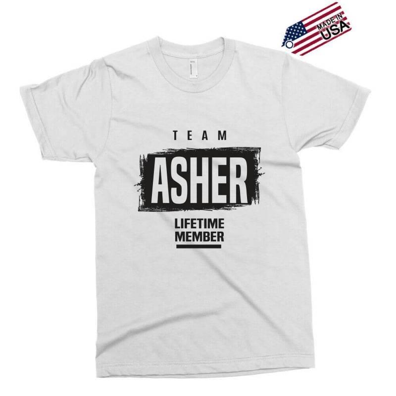Asher Exclusive T-shirt   Artistshot