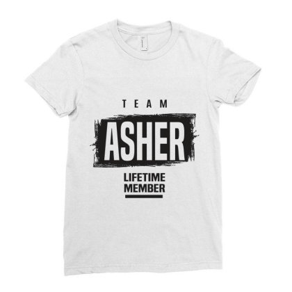 Asher Ladies Fitted T-shirt Designed By Chris Ceconello
