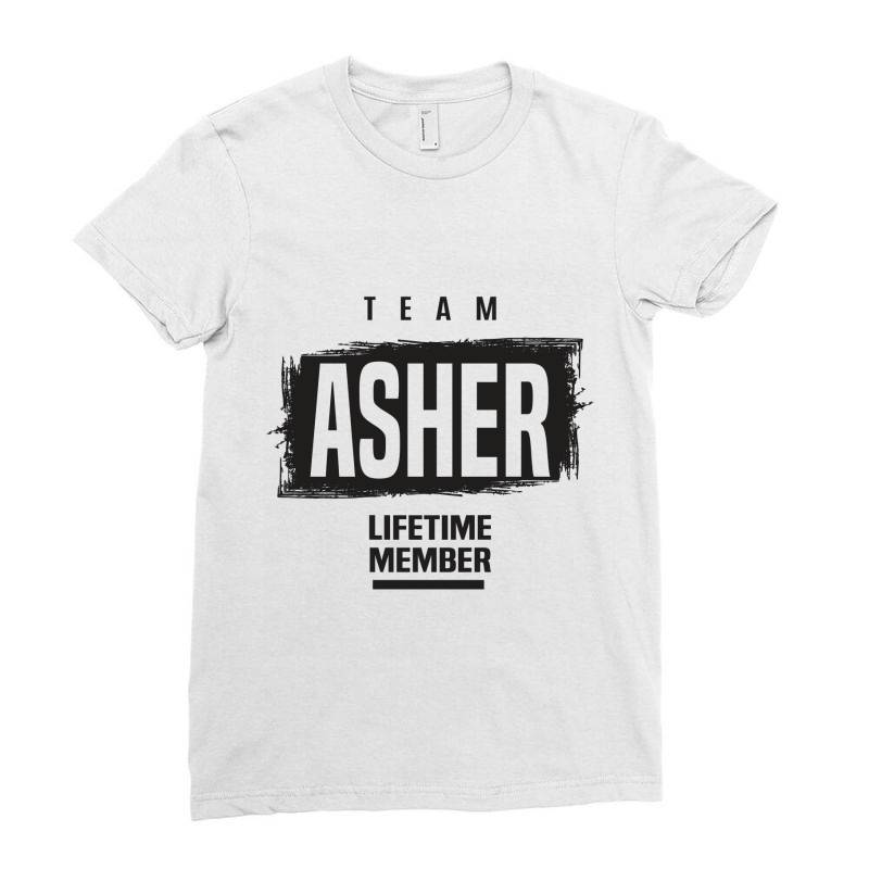 Asher Ladies Fitted T-shirt | Artistshot