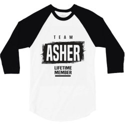 Asher 3/4 Sleeve Shirt | Artistshot