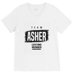 Asher V-Neck Tee | Artistshot