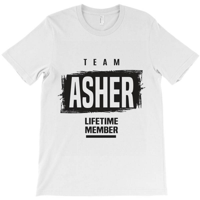 Asher T-shirt | Artistshot