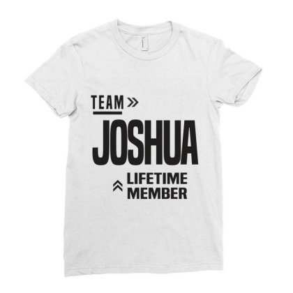 Joshua Ladies Fitted T-shirt Designed By Chris Ceconello