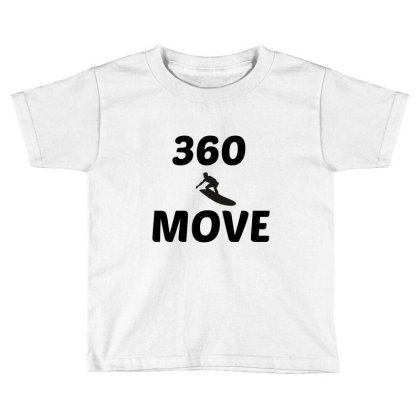360 Surf Wave Move Toddler T-shirt Designed By Perfect Designers