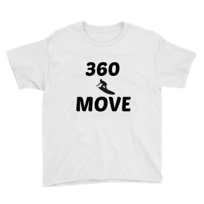 360 Surf Wave Move Youth Tee Designed By Perfect Designers