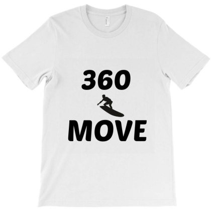 360 Surf Wave Move T-shirt Designed By Perfect Designers