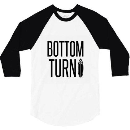 Bottom Turn 3/4 Sleeve Shirt Designed By Perfect Designers