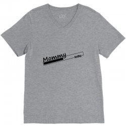 mommy loading V-Neck Tee | Artistshot