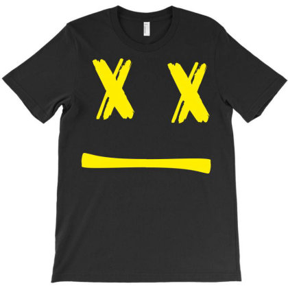 Yellow Simple X T-shirt Designed By Kiva27