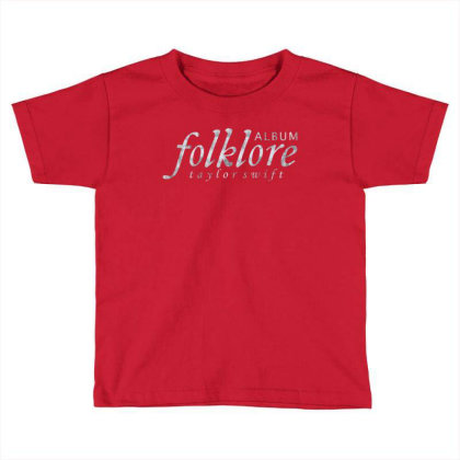 Folklore Album. Toddler T-shirt Designed By Kiva27
