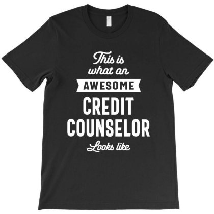 Credit Counselor Job Title Gift T-shirt Designed By Cidolopez