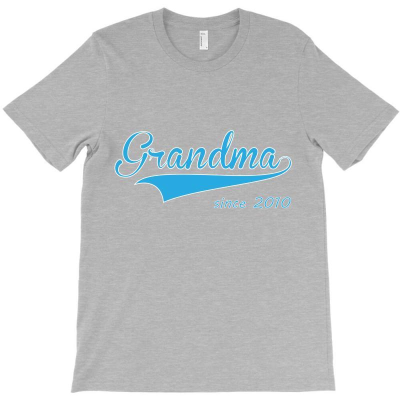 Grandma Since 2010 T-shirt | Artistshot
