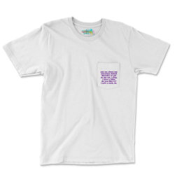 Funny Adhd Quote Pocket T-shirt Designed By Jomadado