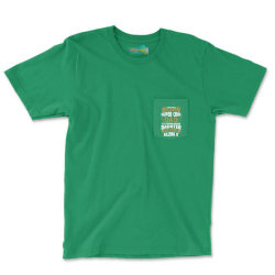 Super Cool Dad Of A Freaking Awesome Daughter Pocket T-shirt Designed By Tshiart