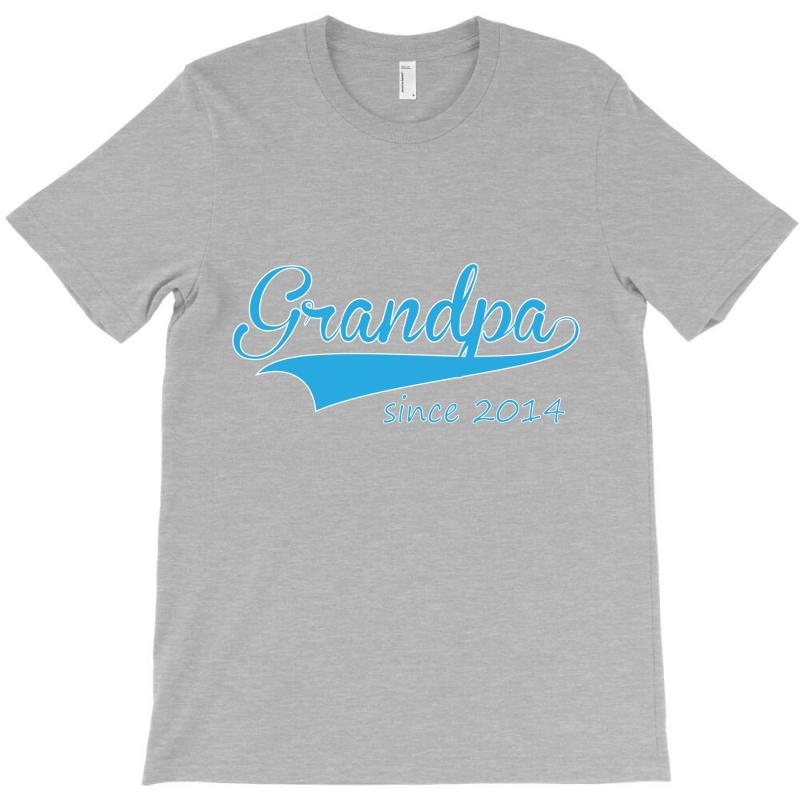 Grandpa Since 2014 T-shirt | Artistshot