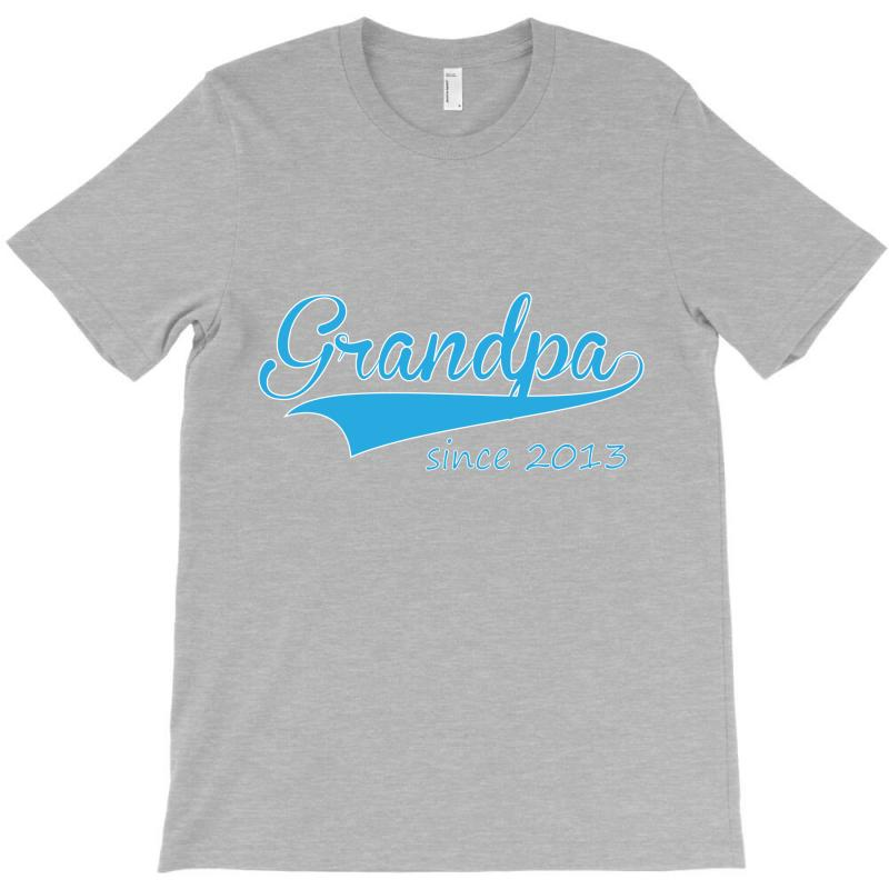 Grandpa Since 2013 T-shirt   Artistshot