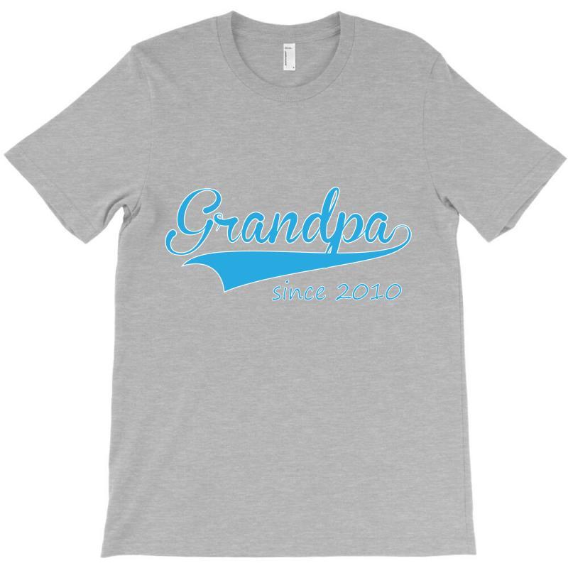 Grandpa Since 2010 T-shirt   Artistshot