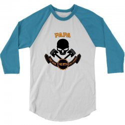 the man  the myth   the legend - papa 3/4 Sleeve Shirt   Artistshot