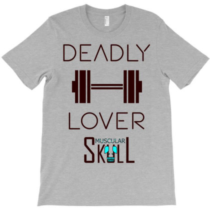 Deadly Dumbbell Lover 2 T-shirt Designed By .m.e.l.u.h.a. Fashion Store