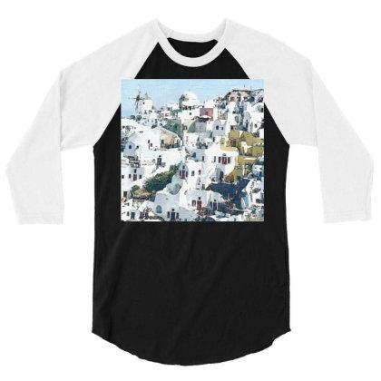 Greece 3/4 Sleeve Shirt Designed By Artango