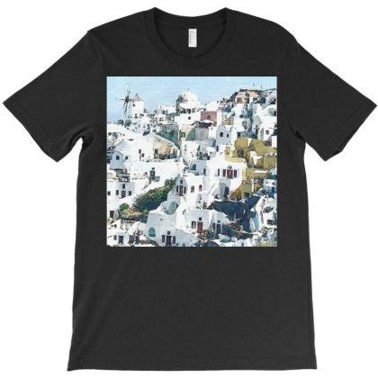 Greece T-shirt Designed By Artango