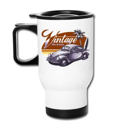 Vintage Deluxe Travel Mug Designed By Samkal