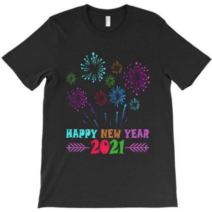 Happy New Year 2021 T-shirt Designed By Faical