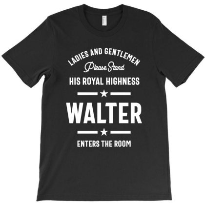Walter Personalized Name Birthday Gift T-shirt Designed By Cidolopez