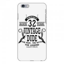 vintage-dud-32-years iPhone 6 Plus/6s Plus Case | Artistshot
