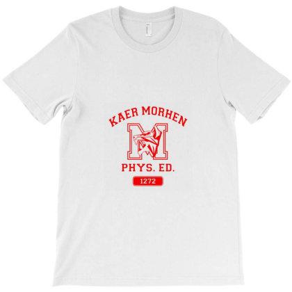 Kaer Morhen Gym T-shirt Designed By Ria Amarzhani