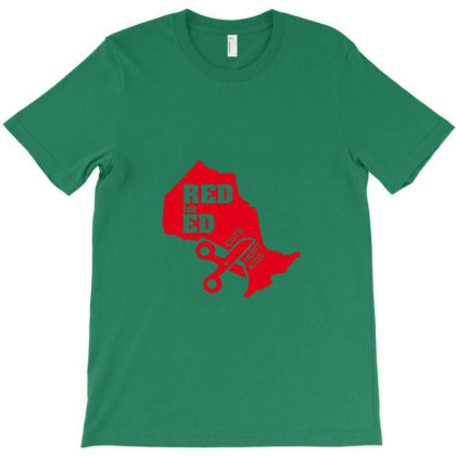 Red For Ed T-shirt Designed By Ria Amarzhani