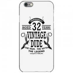 vintage-dud-32-years iPhone 6/6s Case | Artistshot