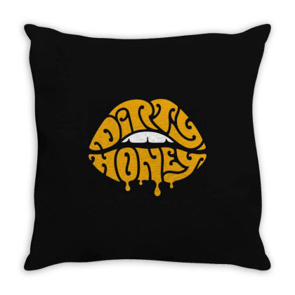 Music Rock Dirty Honey Throw Pillow Designed By Brave Tees