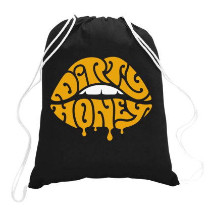 Music Rock Dirty Honey Drawstring Bags Designed By Brave Tees