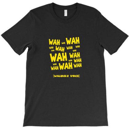 Waluigi Voice ( Wah ) T-shirt Designed By Ria Amarzhani