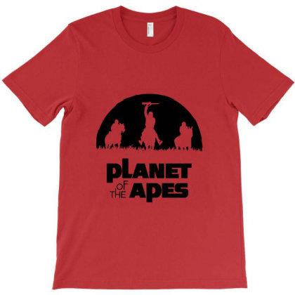 Monkey Warriors Planet T-shirt Designed By Ahmadjufriyanto