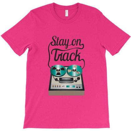 Tracks Tire Vintage T-shirt Designed By Ahmadjufriyanto