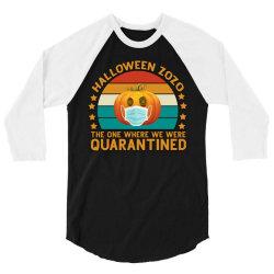 Halloween Zozo The One Where We Were Quarantined 3/4 Sleeve Shirt | Artistshot