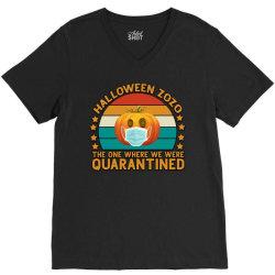 Halloween Zozo The One Where We Were Quarantined V-Neck Tee | Artistshot