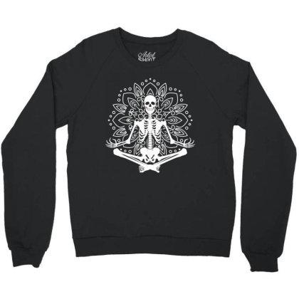 Namaste Lotus Flower Throw Pillow Crewneck Sweatshirt Designed By Tiococacola