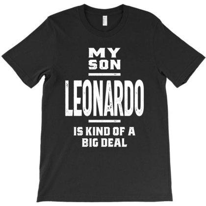 Leonardo Personalized Name Birthday Gift T-shirt Designed By Cidolopez