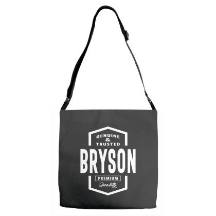 Bryson Personalized Name Birthday Gift Adjustable Strap Totes Designed By Cidolopez