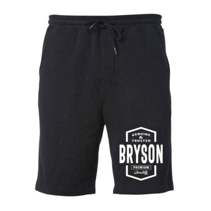 Bryson Personalized Name Birthday Gift Fleece Short Designed By Cidolopez