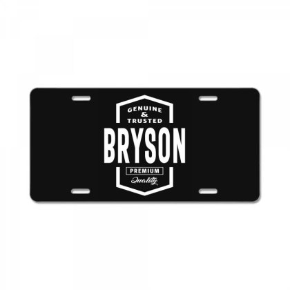 Bryson Personalized Name Birthday Gift License Plate Designed By Cidolopez