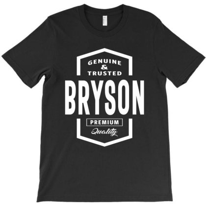 Bryson Personalized Name Birthday Gift T-shirt Designed By Cidolopez